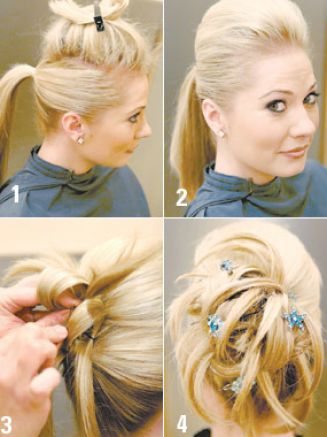 How to do an updo pictures 3