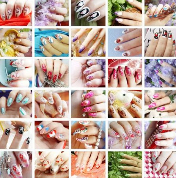 ideas for nail art designs. Easy nail art designs buzzle