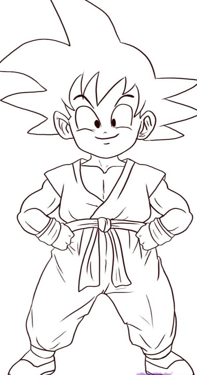 Cartoon Characters Dragon Ball Z : How to draw goku cartoon character best cars