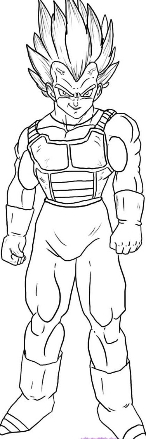 youtube how to draw dragon ball z characters
