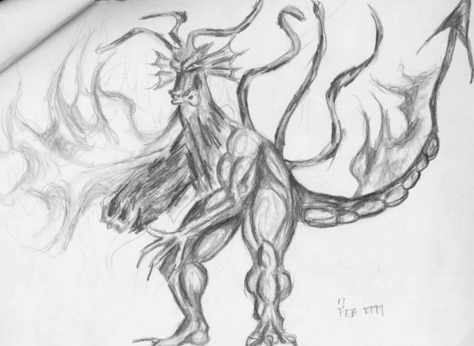 Chinese Fire Dragon Drawings The Fire Breathing Dragon