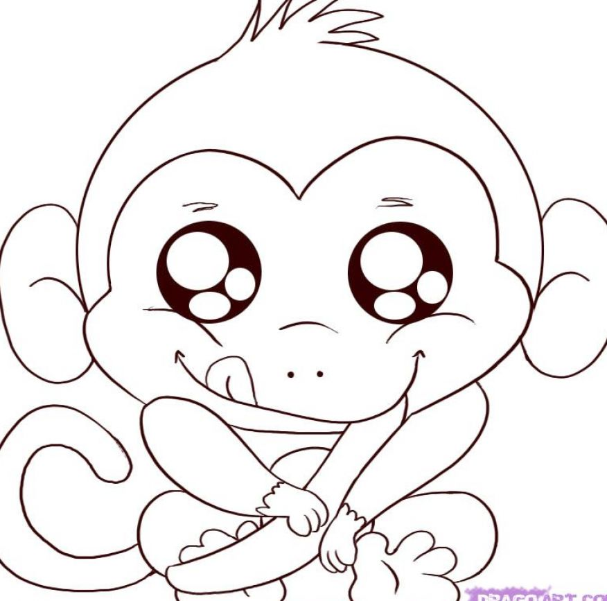 How To Draw A Cartoon Monkey Apps Directories