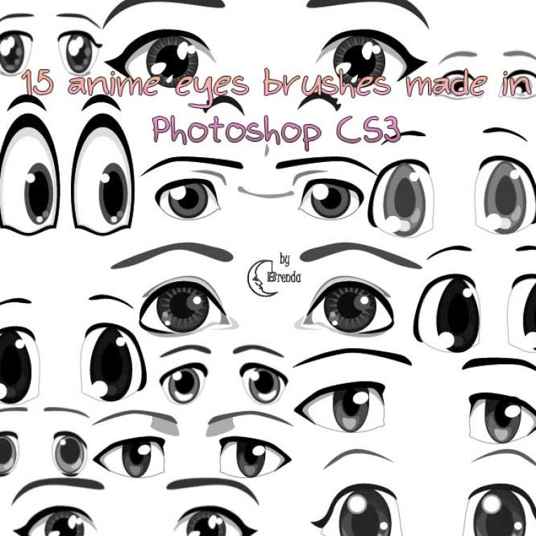 How to draw anime eyes for beginners pictures 4