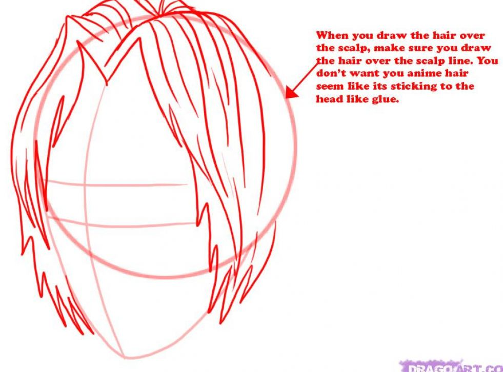 How to draw a hot anime guy