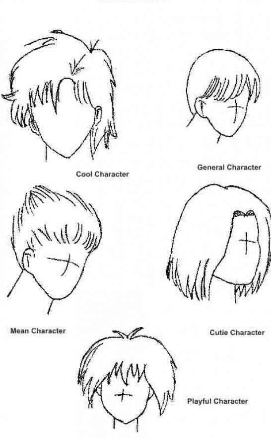 how-to-draw-anime-hair-male 3 jpgHow To Draw Male Anime Hair