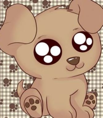 cute anime puppies. Puppies are so cute to look at