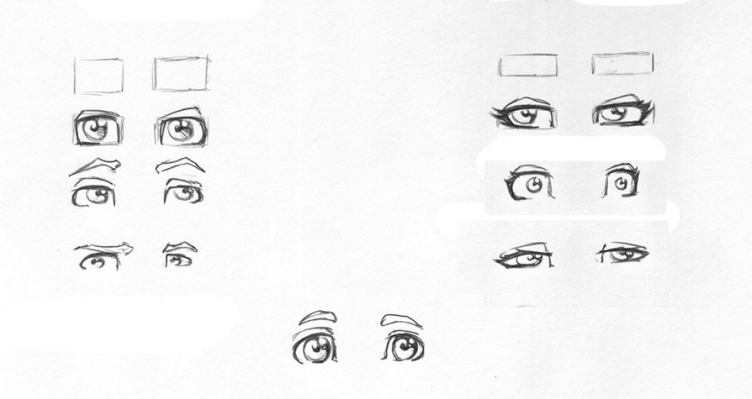 How to Draw Crying Eye...Eyes Looking Up Drawing