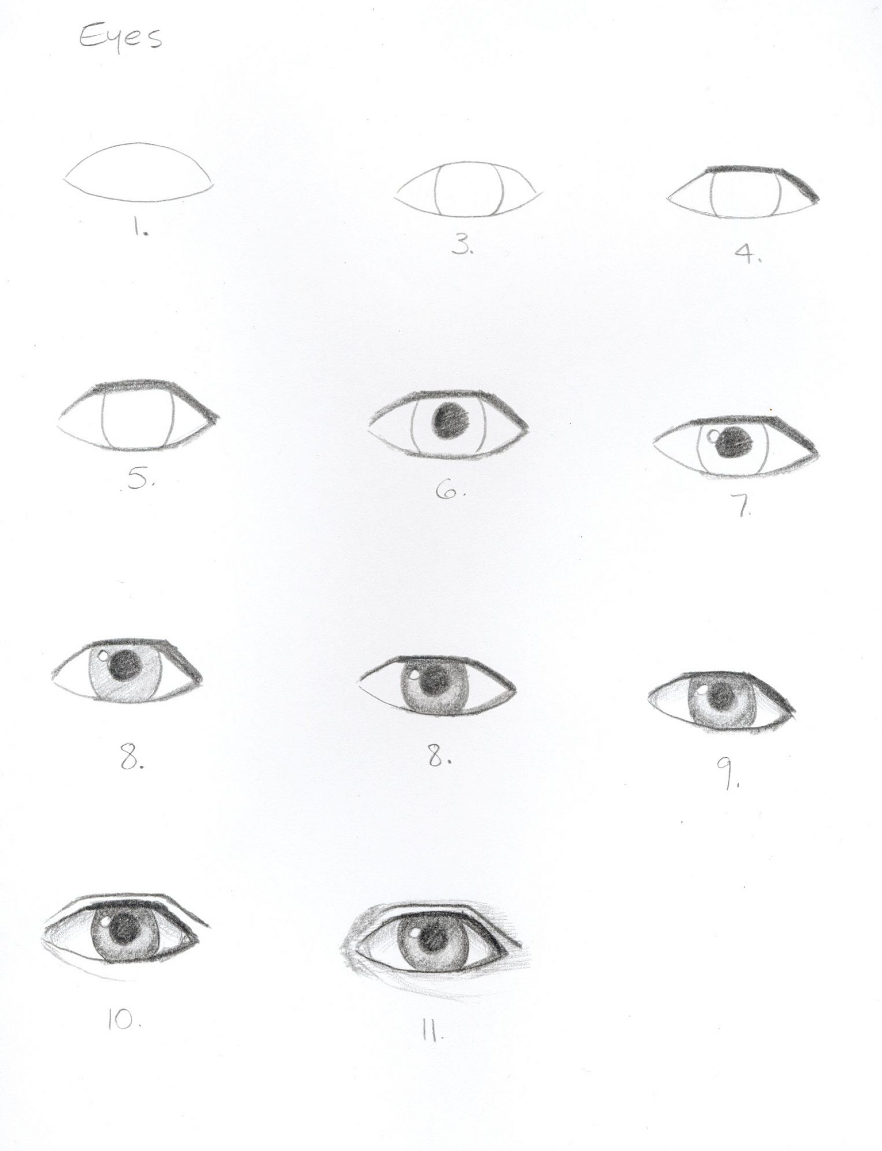 The gallery for --> How To Draw Crying Eyes Step By Step ...