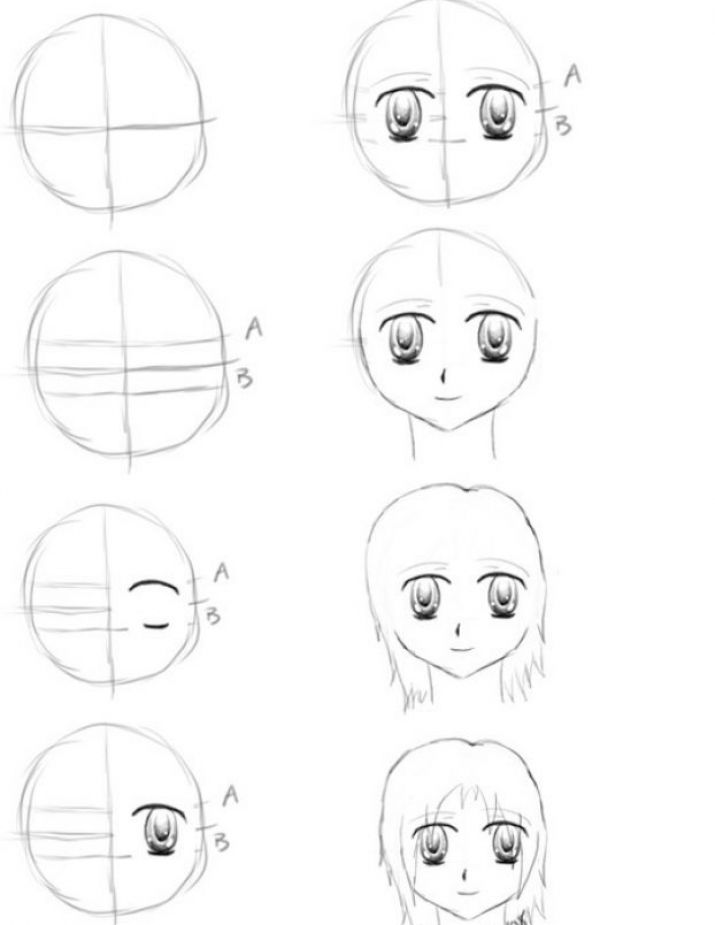 How to draw eyes step by step for beginners pictures 3