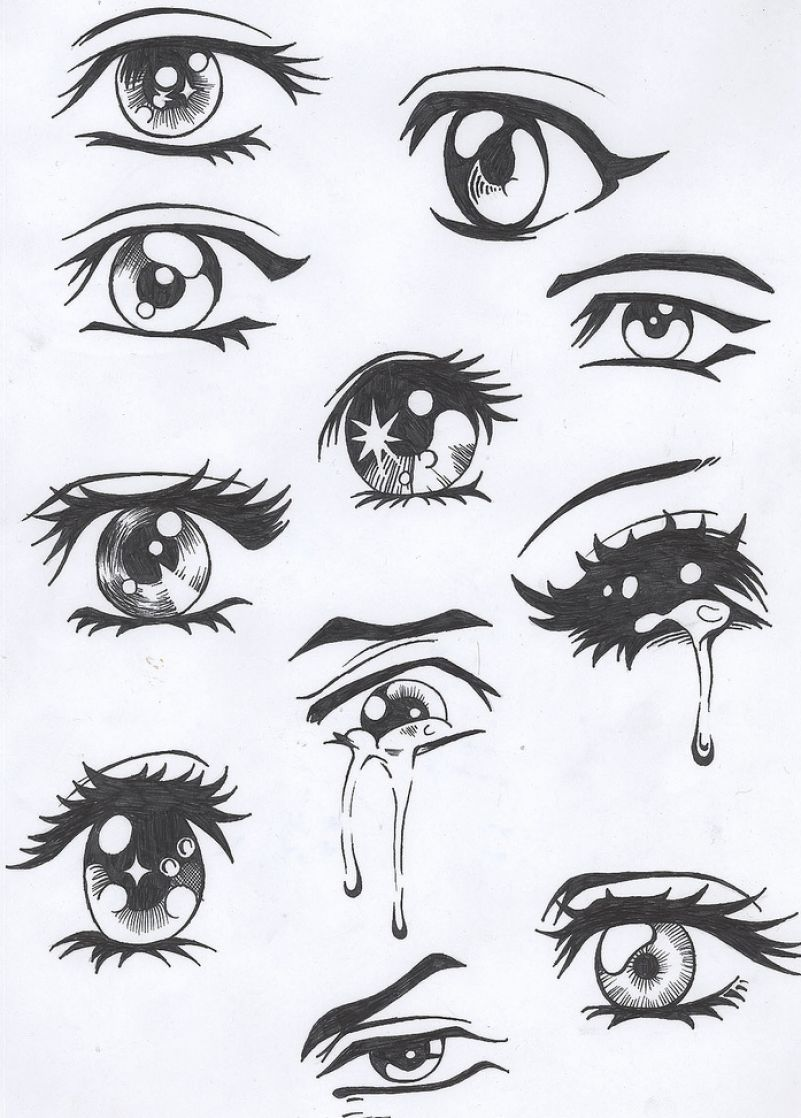 How to draw eyes with pencil pictures 4