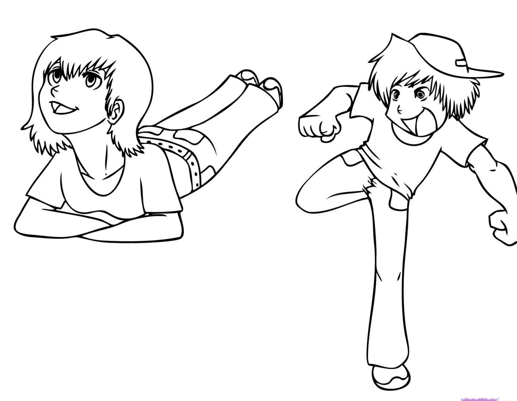Drawing Lines Xcode : How to draw people kids