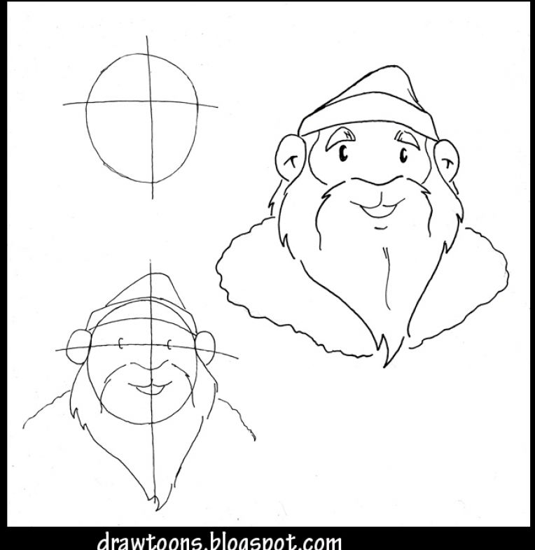Easy Pics Of Santa Claus | Search Results