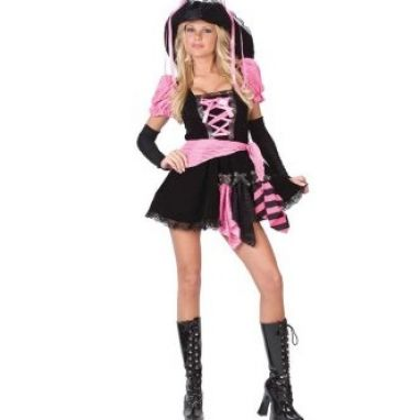 How to dress like a pirate girl pictures 1