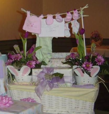 makingbaby picture on how to make a baby shower gift basket pictures 4