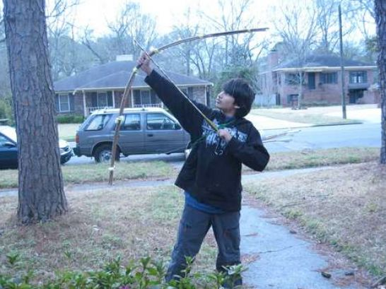 How to build wood arrows adam kaela - How to make a homemade bow and arrow out of wood ...