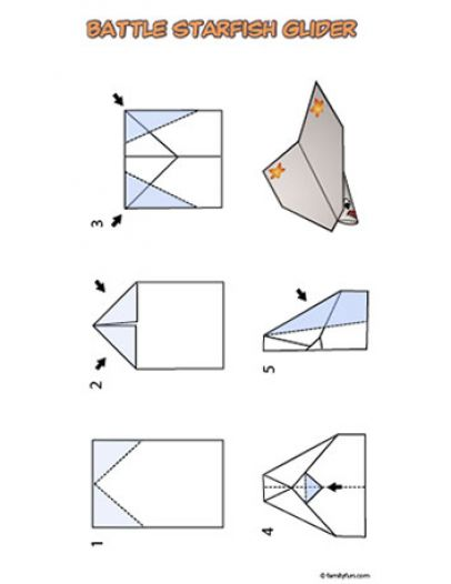 how to make an awesome paper airplane glider