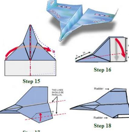 To make a paper airplane jet instructions how to make a paper airplane
