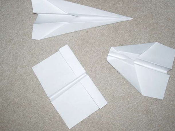 Learn how to make a paper airplane step by step that flies awesomely.