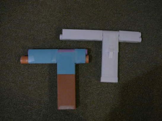 How To Make Paper Guns