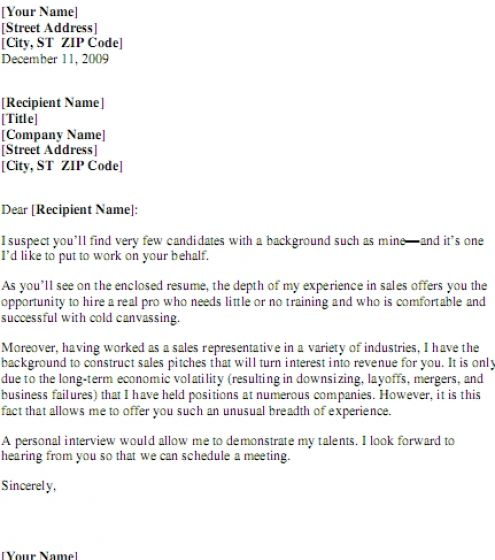 Permalink to How To Make A Cover Letter