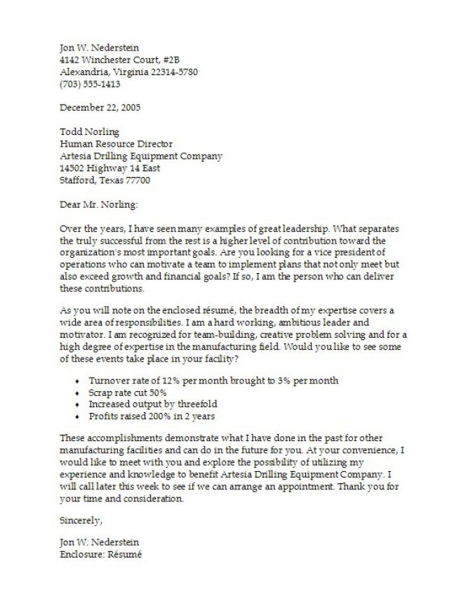Create a Cover Letter - Monster com