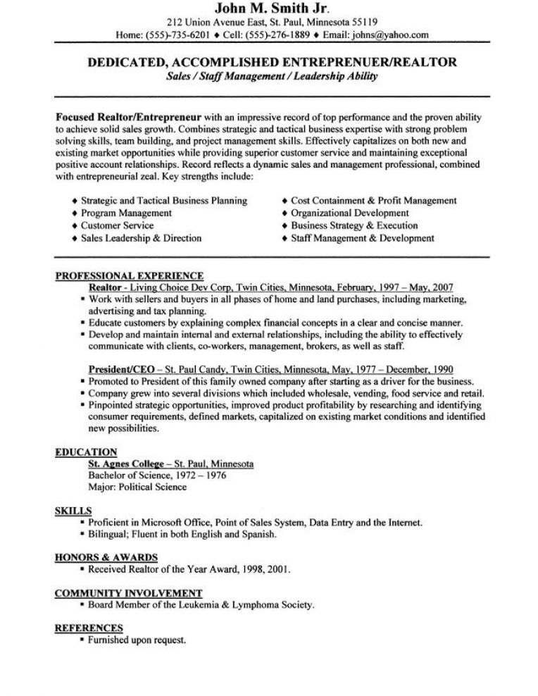 how to make a resume example pictures 4