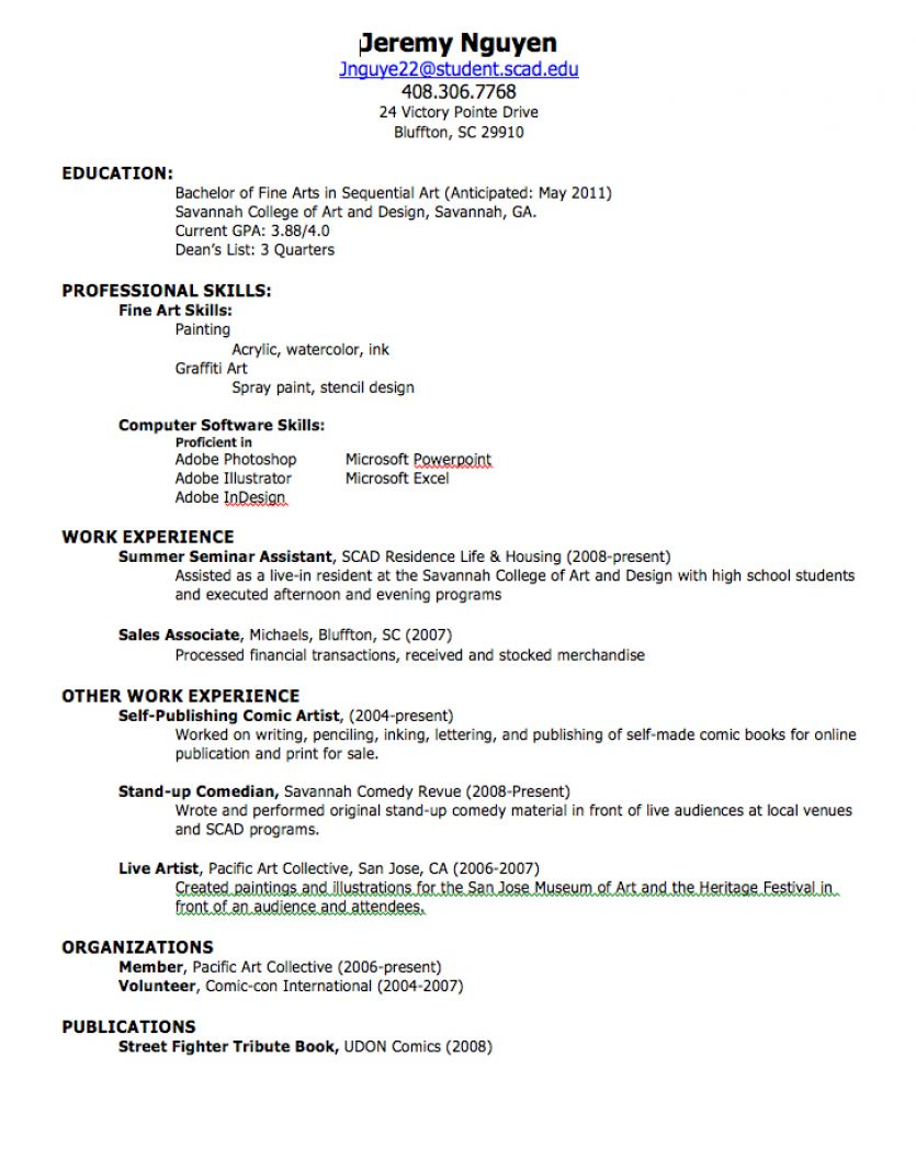 student resume examples first job student resume examples first job 2316