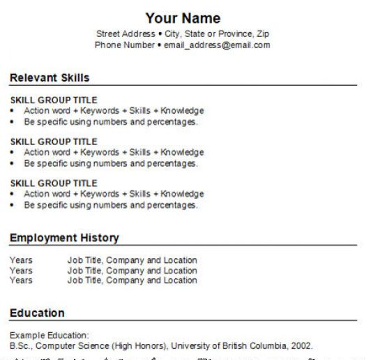 make resume markushenritk