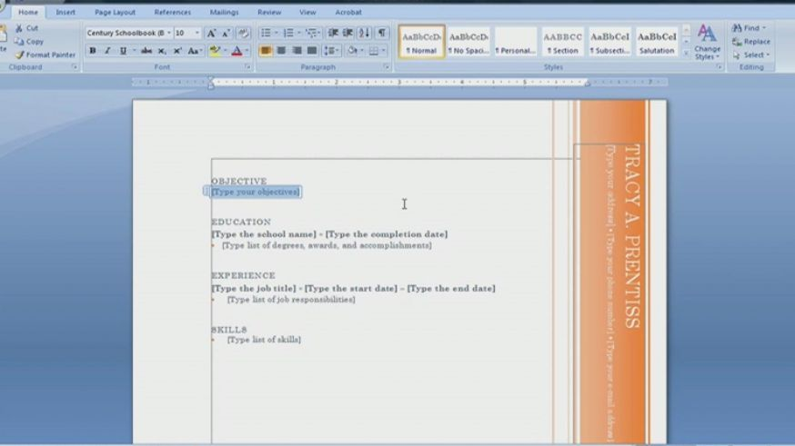 How to make a resume on microsoft pictures 4