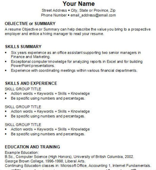 example of resume for students. Example CV Resume Template