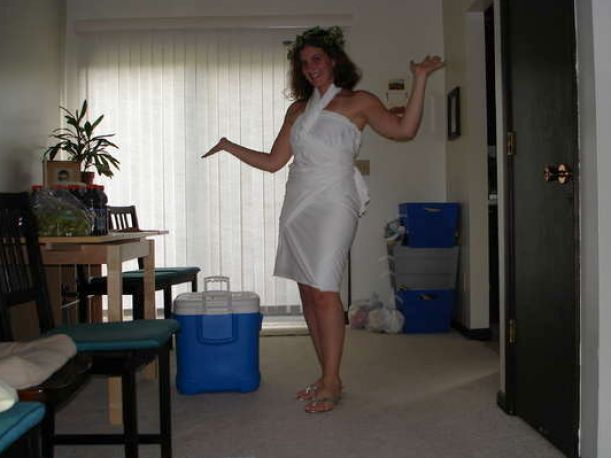 How To Make A Toga Out Of A Sheet For Women Pictures 2 Apps