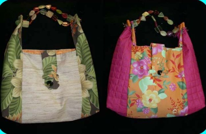 How to make fabric bags pictures 3