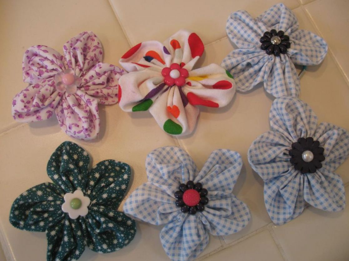 How To Make An Easy Fabric Flower