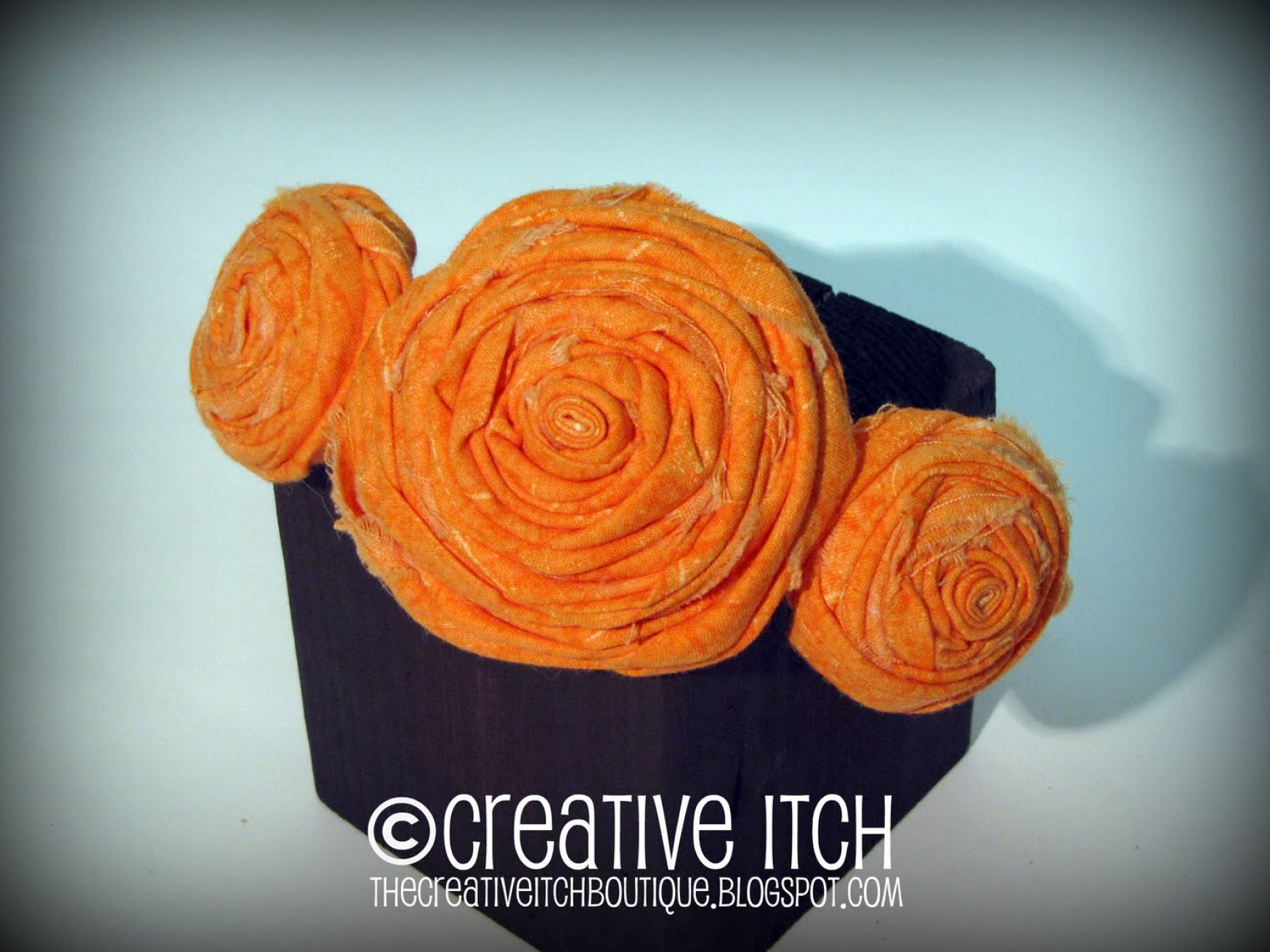 How to make fabric flowers for headbands pictures 1