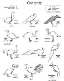 How to make origami bird pictures 4