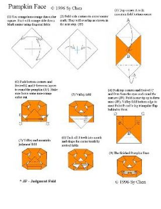 how to make origami flowers step by step instructions