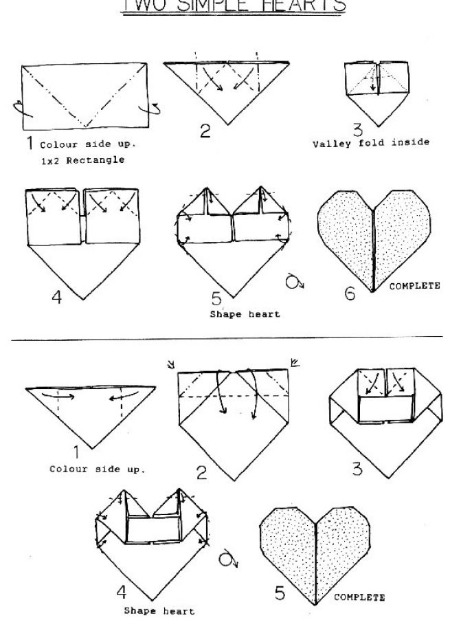 instructions on how to make an envelope