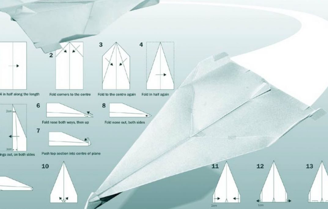 How to make paper airplanes that fly far and fast pictures 3 TqWKcKFb