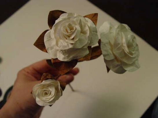 diy paper flowers wedding. How to Make Paper Flowers
