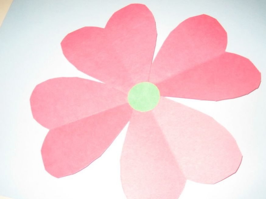 How to Make Construction Paper Flowers - Learn how to make paper simple