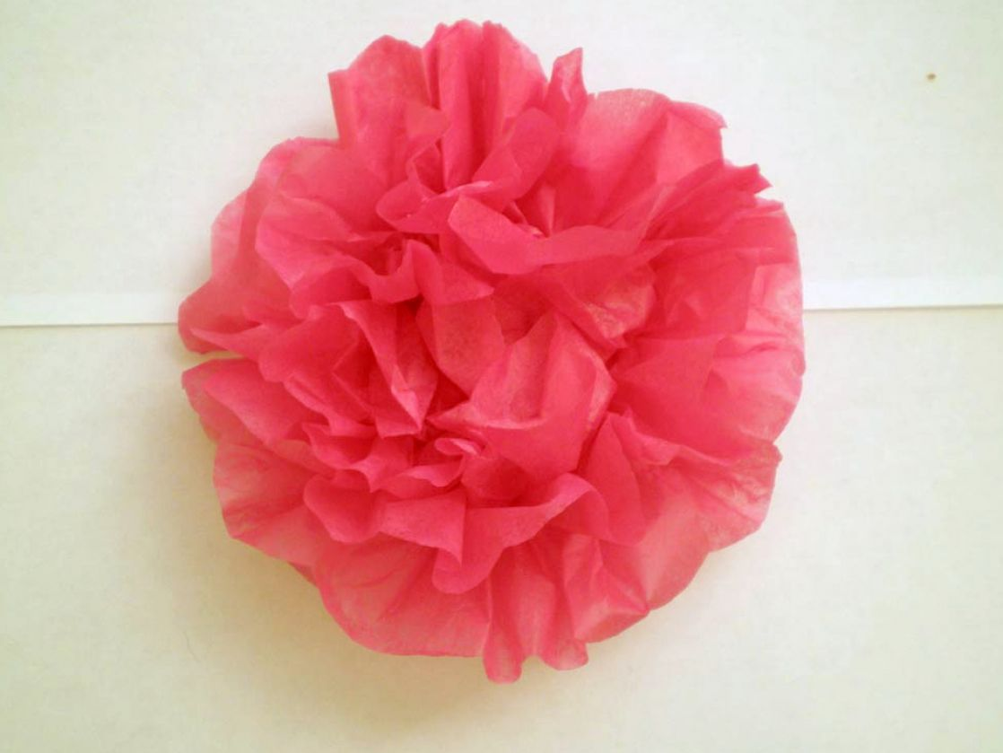 How To Make With Paper Flowers