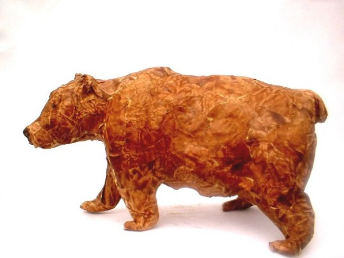 1000 images about paper mache bears on pinterest bears for Making paper mache animals