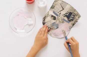 How to make paper mache masks pictures 1