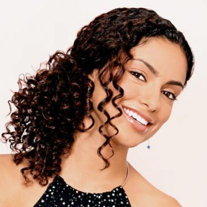How to style curly hair after pictures 4