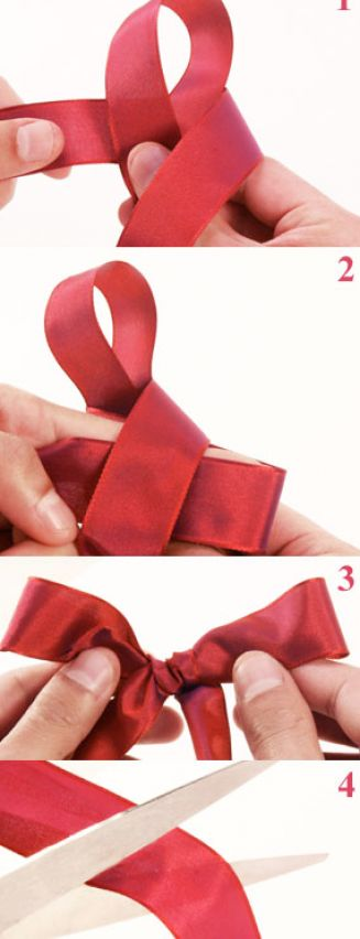jolie blogs how to tie a bow with ribbon. Black Bedroom Furniture Sets. Home Design Ideas
