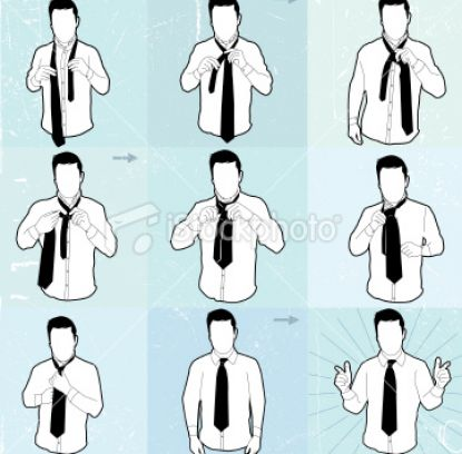 How to tie a tie stepbystep instructions diagram and videos
