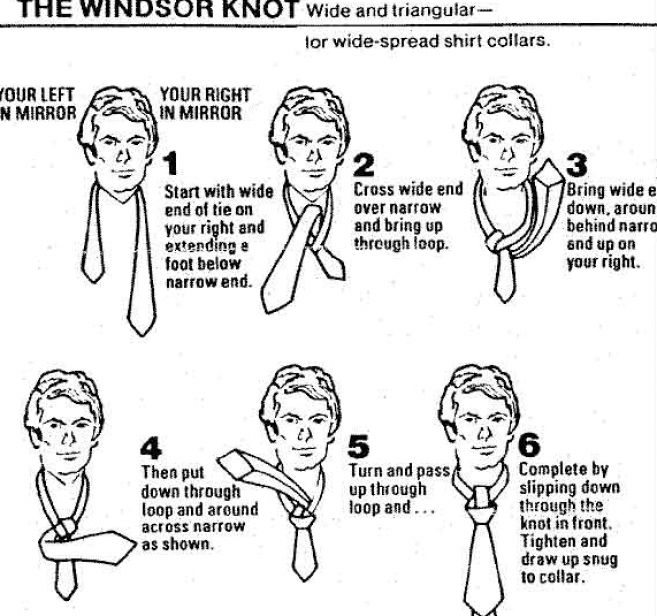 how to tie a windsor knot video at inspired blogs