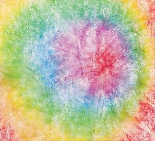 Learn how to tie dye tissue paper in a snap with this simple but fun craft project!