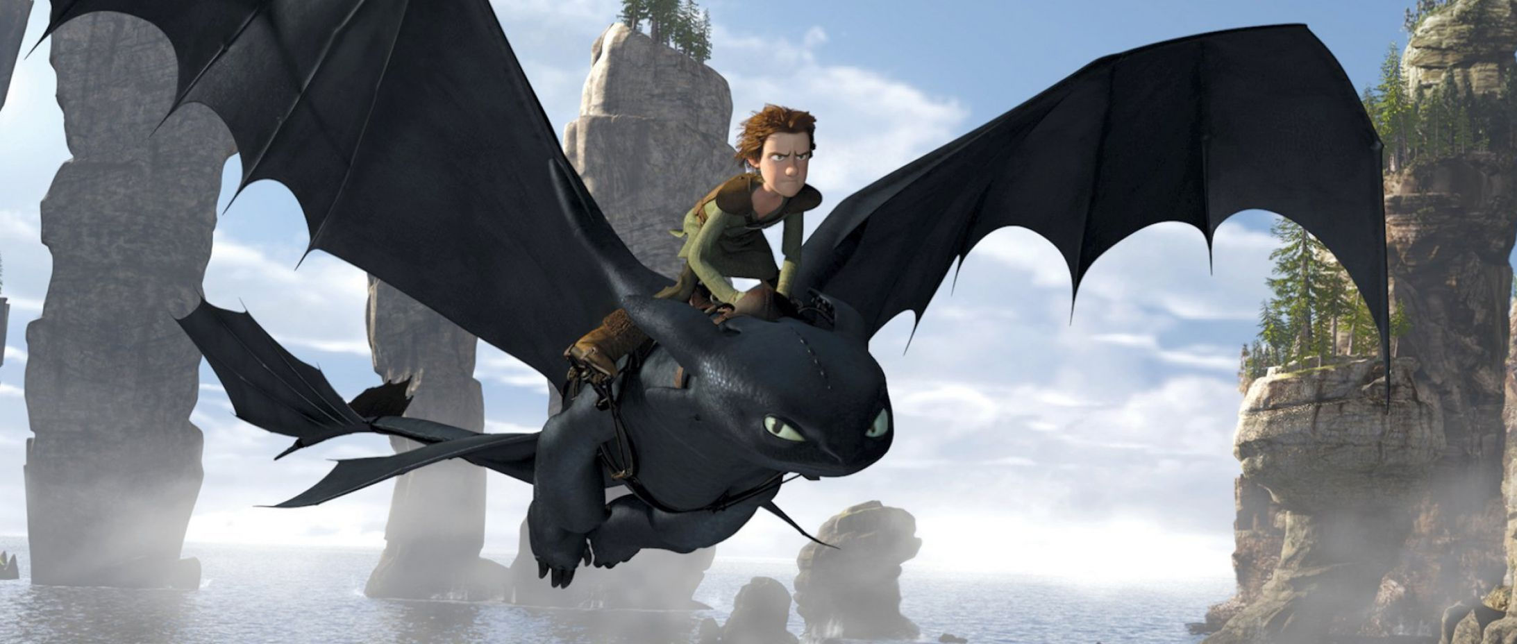 theme of how to train your dragon