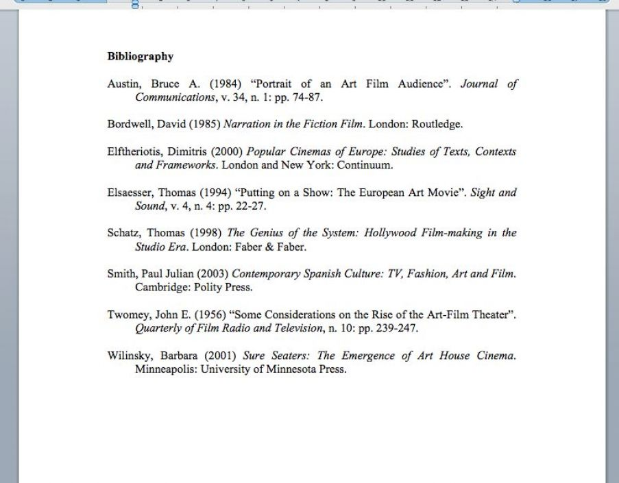 How to write a bibliography pictures 3